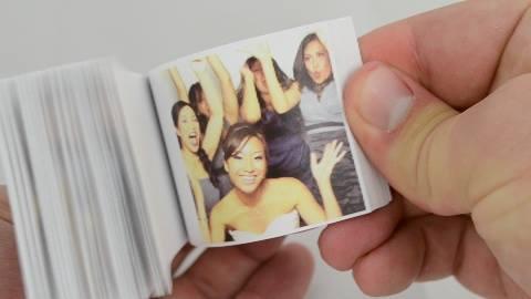 Wedding Photo Booth Flipbook Example