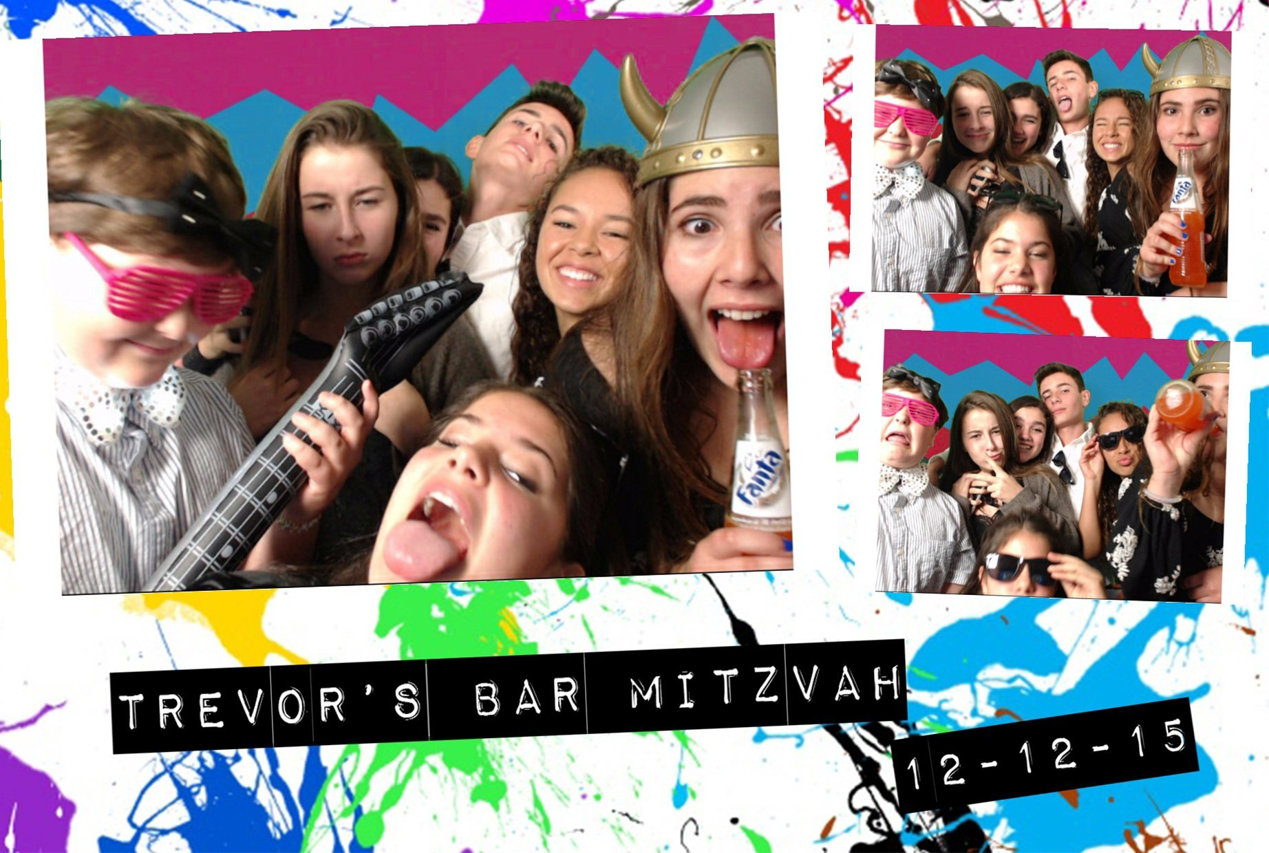 Green Screen Photos For Bar Mitvahs in San Francisco Bay Area