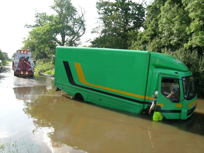 water logging recovery