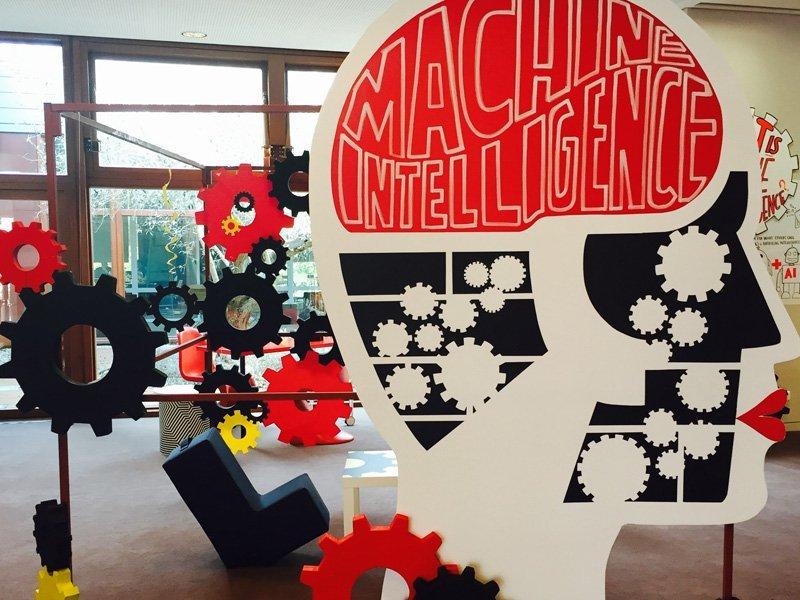 graphic of MACHINE INTELLIGENCE