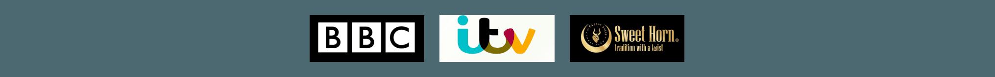 BBC itv logos