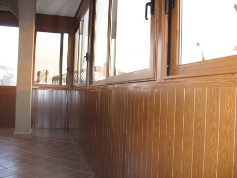 veranda in legno