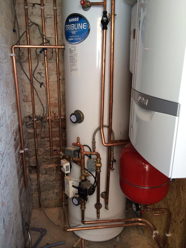 boiler after repair