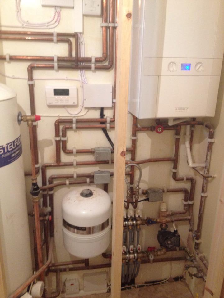 domestic boiler
