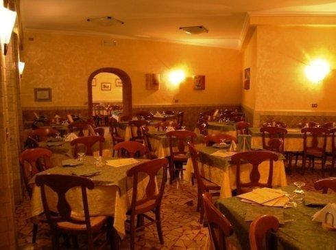 Sala interna ristorante