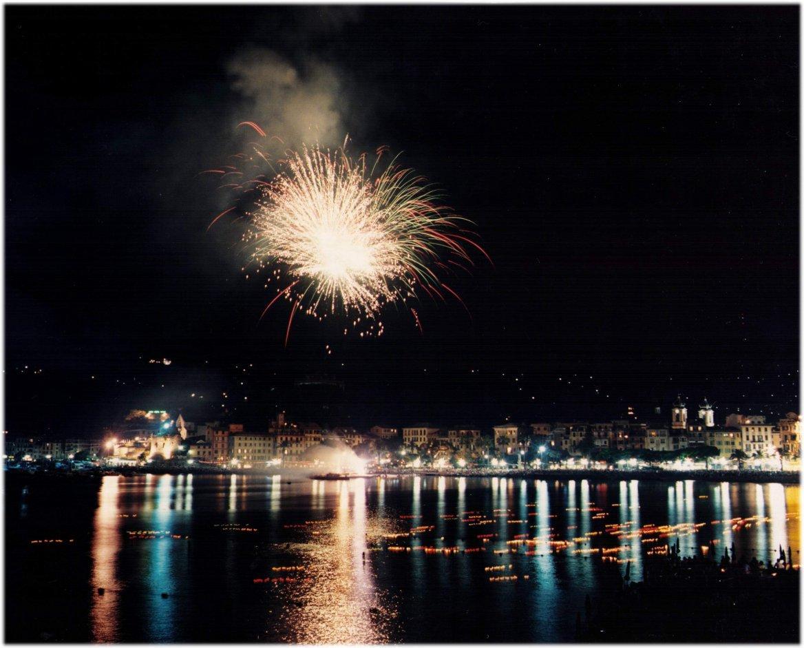 cielo e mare fuochi d'artificio