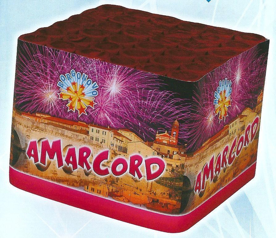 scatola di fuochi artificiali AMARCORD