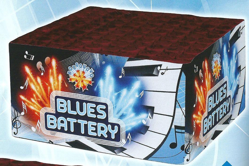 scatola di fuochi artificiali BLUES BATTERY