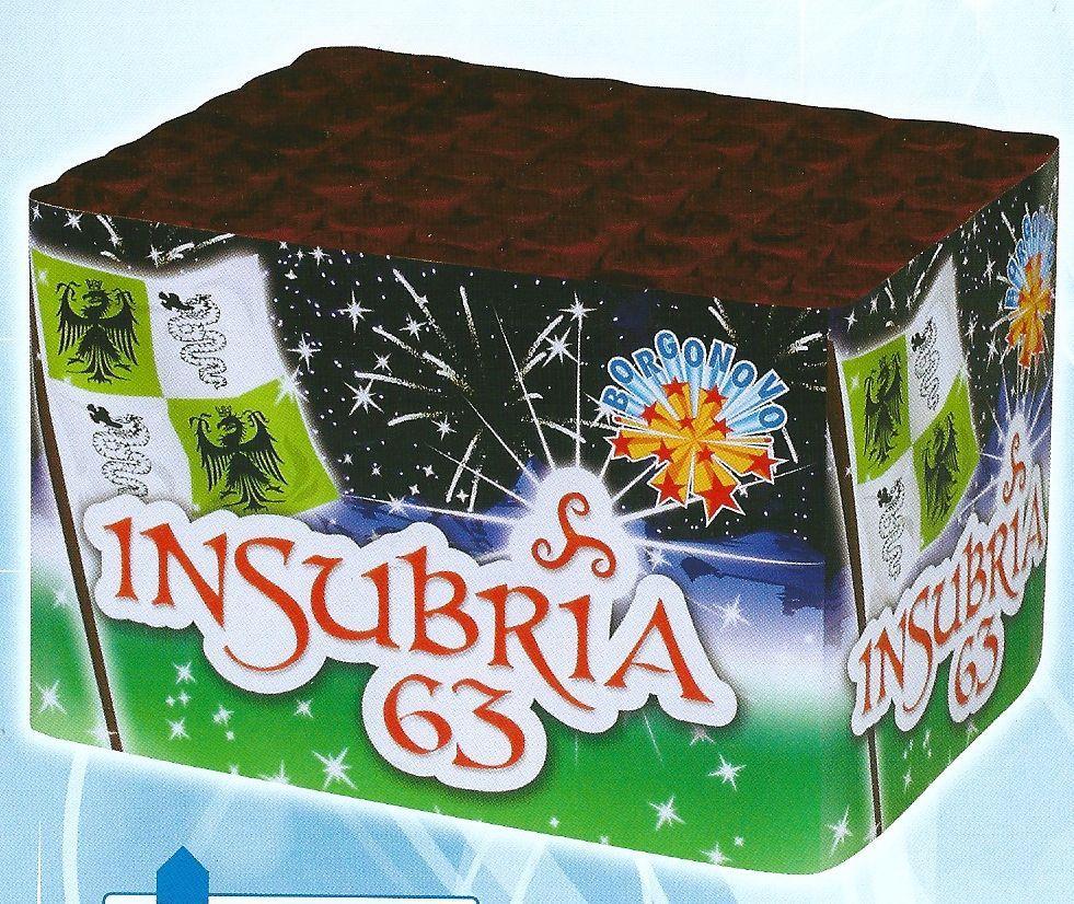 scatola di fuochi artificiali INSUBRIA 63