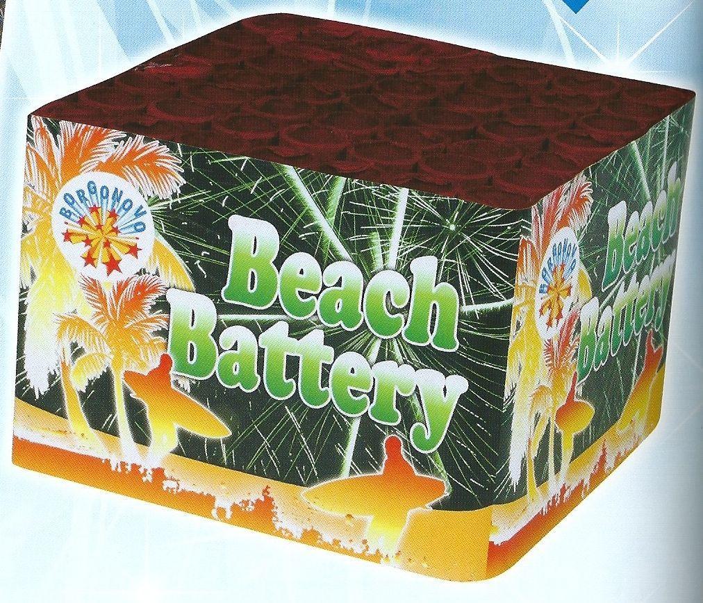 scatola di fuochi artificiali BEACH BATTERY