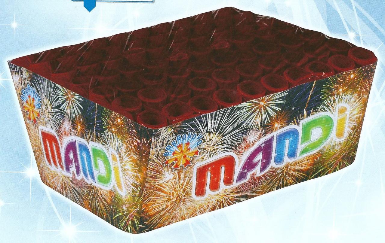 scatola di fuochi artificiali MANDI