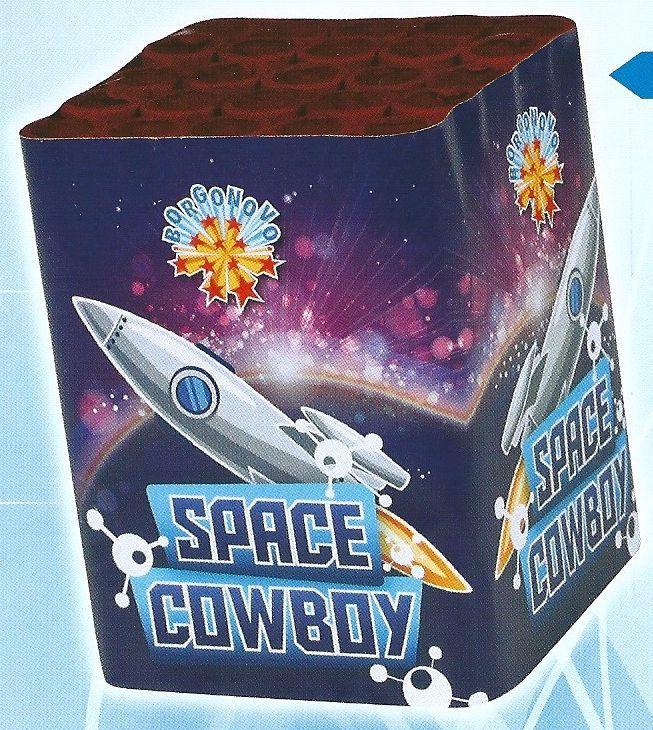 scatola di fuochi artificiali SPACE COWBOY