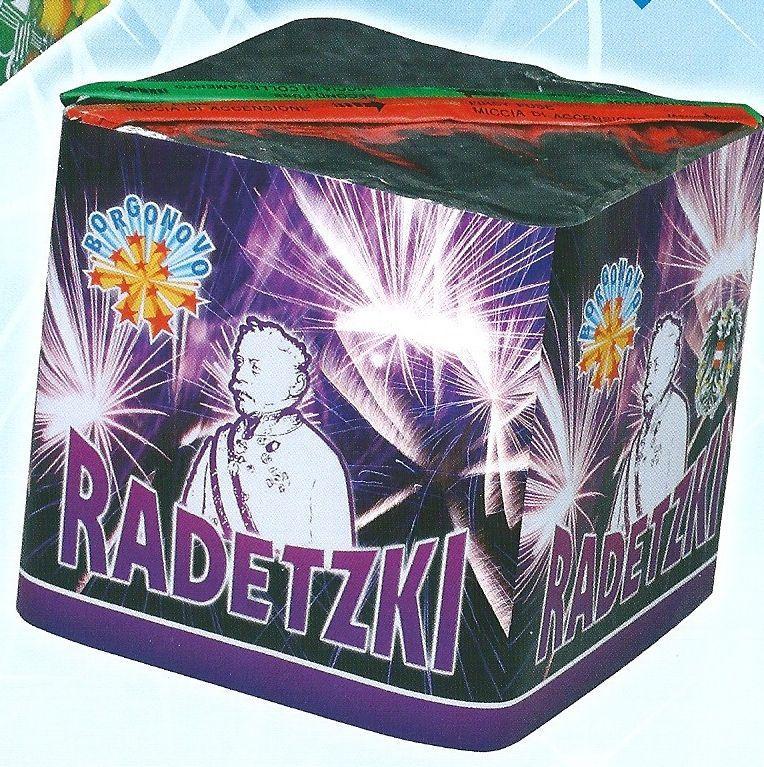 scatola di fuochi artificiali RADETZKI