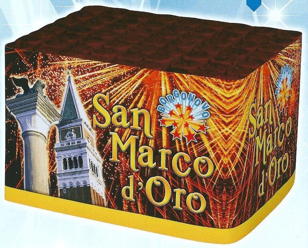 scatola di fuochi artificiali SAN MARCO D'ORO