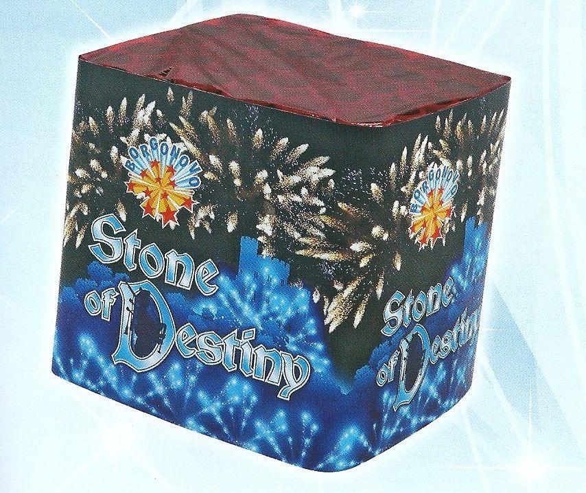 scatola di fuochi artificiali STONE DESTINY