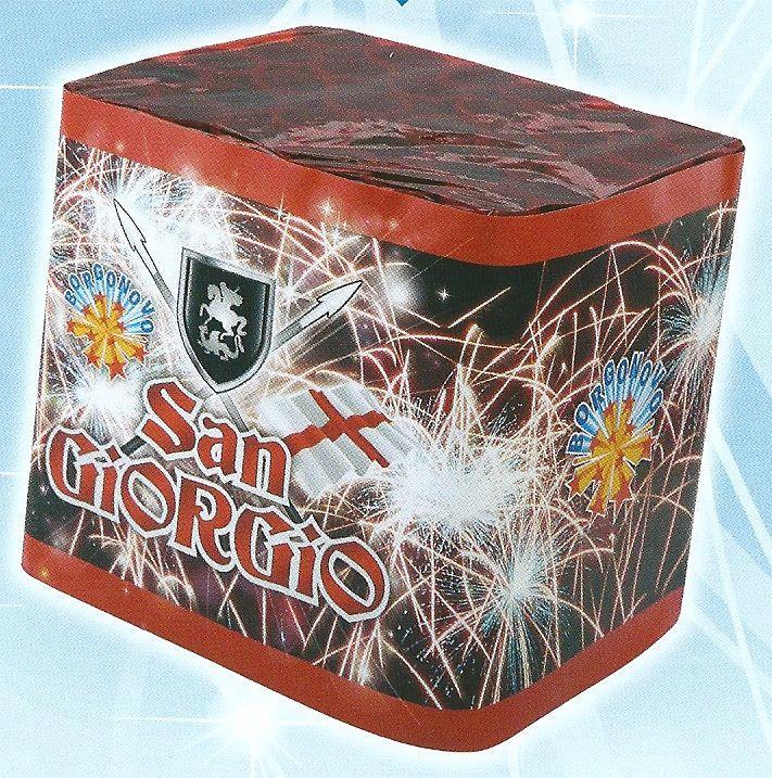scatola di fuochi artificiali SAN GIORGIO