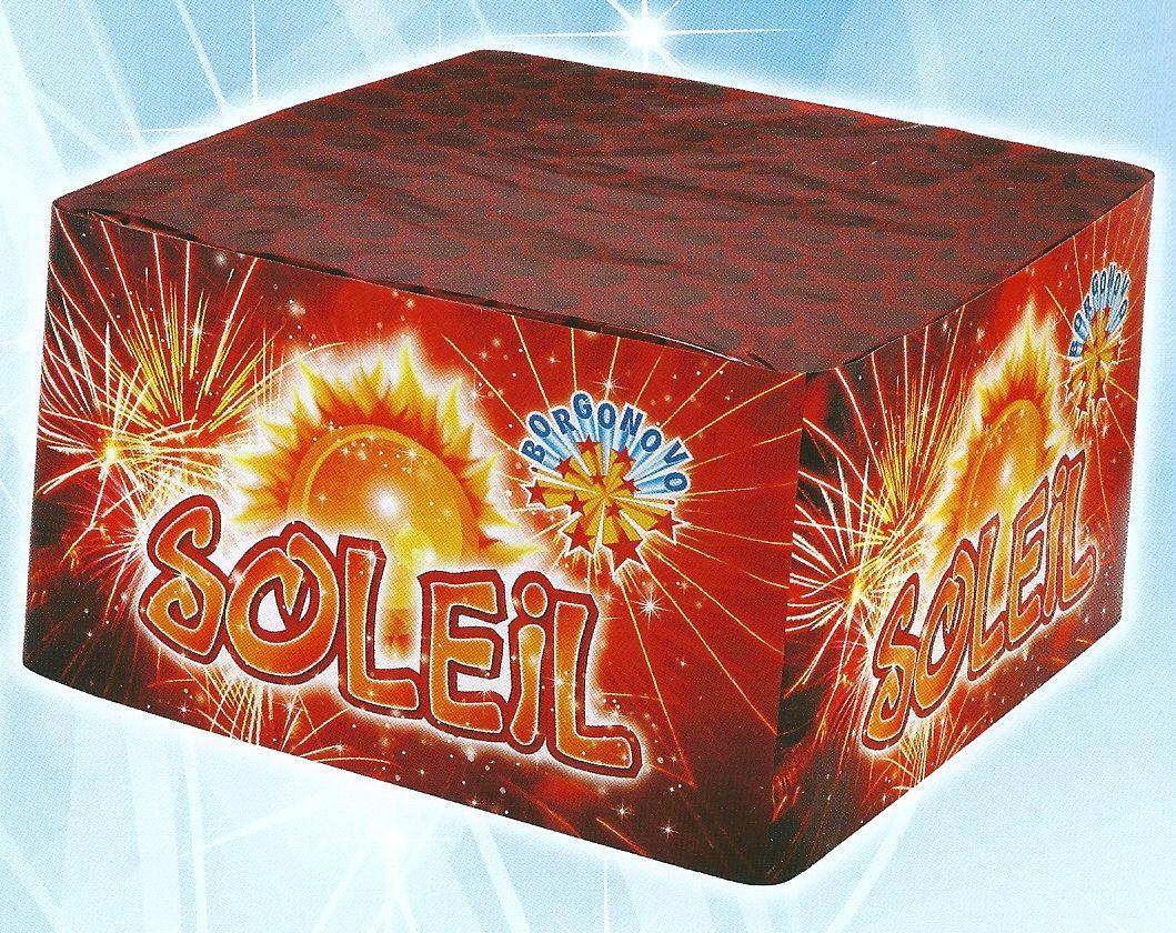 scatola di fuochi artificiali SOLE
