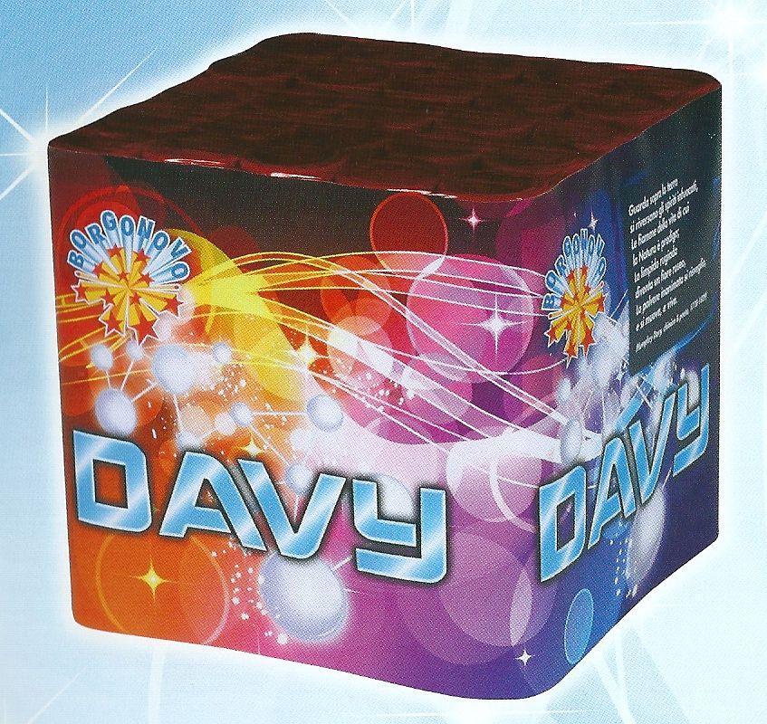 scatola di fuochi artificiali DAVY