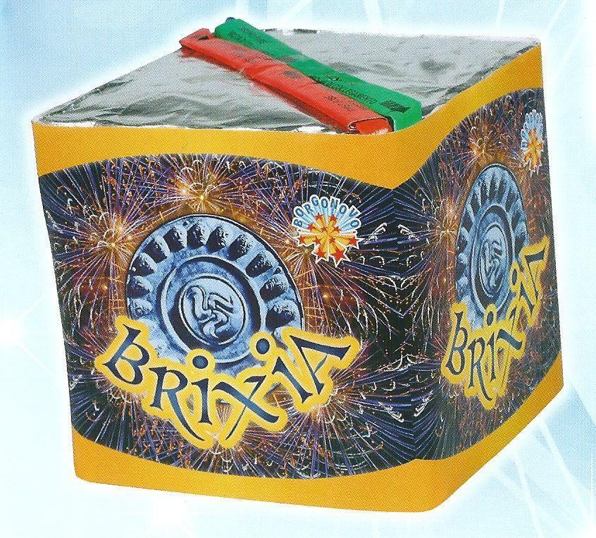 scatola di fuochi artificiali BRIXIA