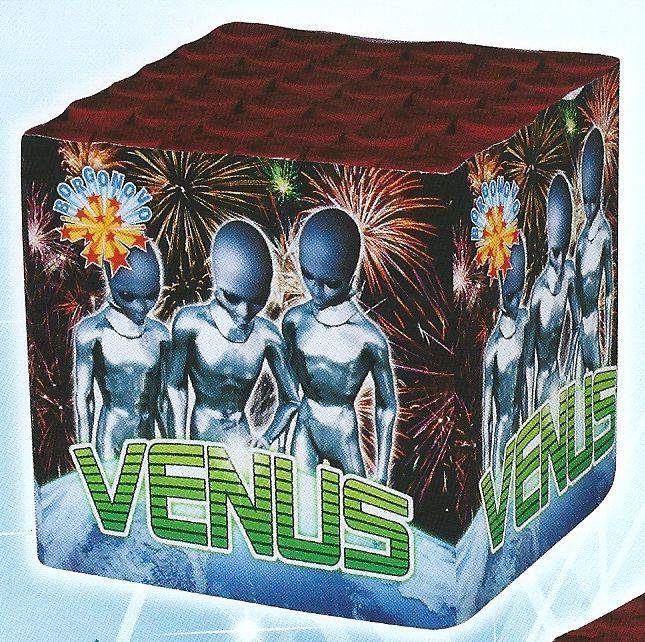 scatola di fuochi artificiali VENUS