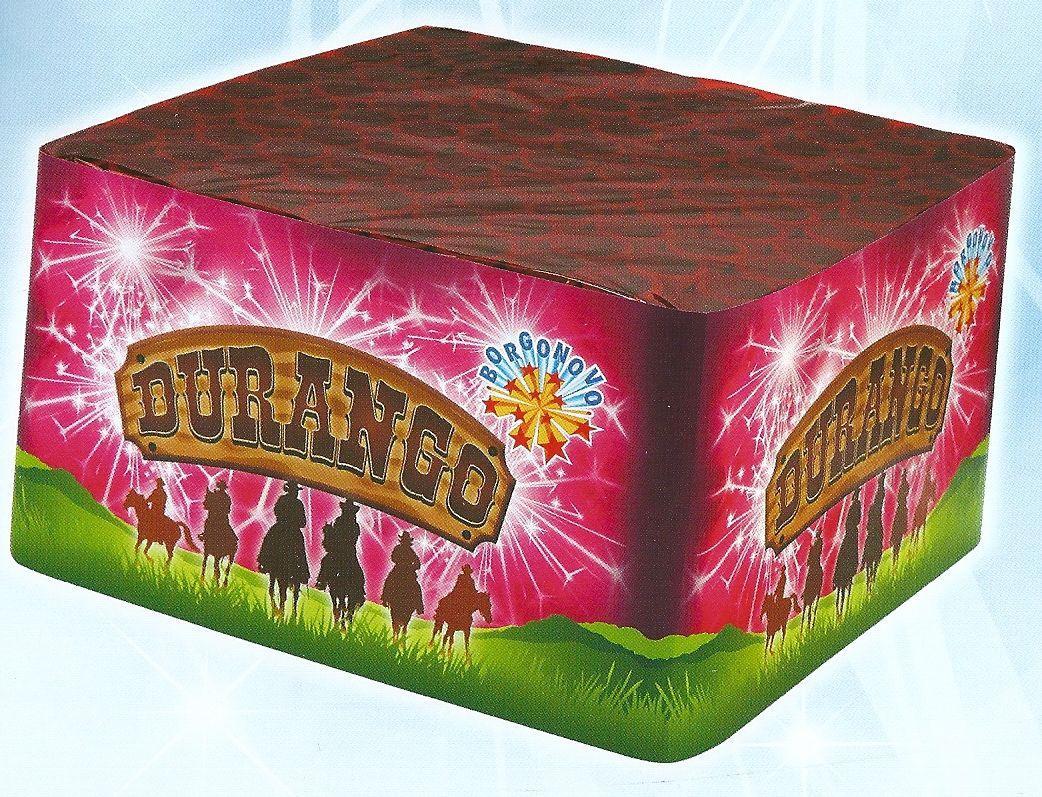 scatola di fuochi artificiali DURANGO