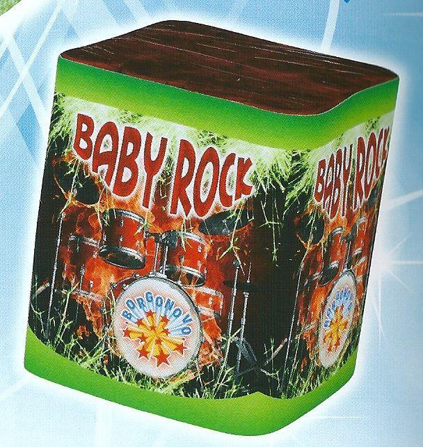 scatola di fuochi artificiali BABY ROCK