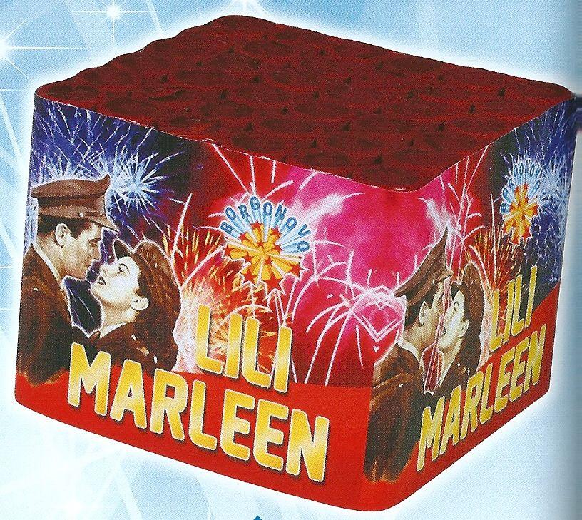 scatola di fuochi artificiali LILI MARLEEN