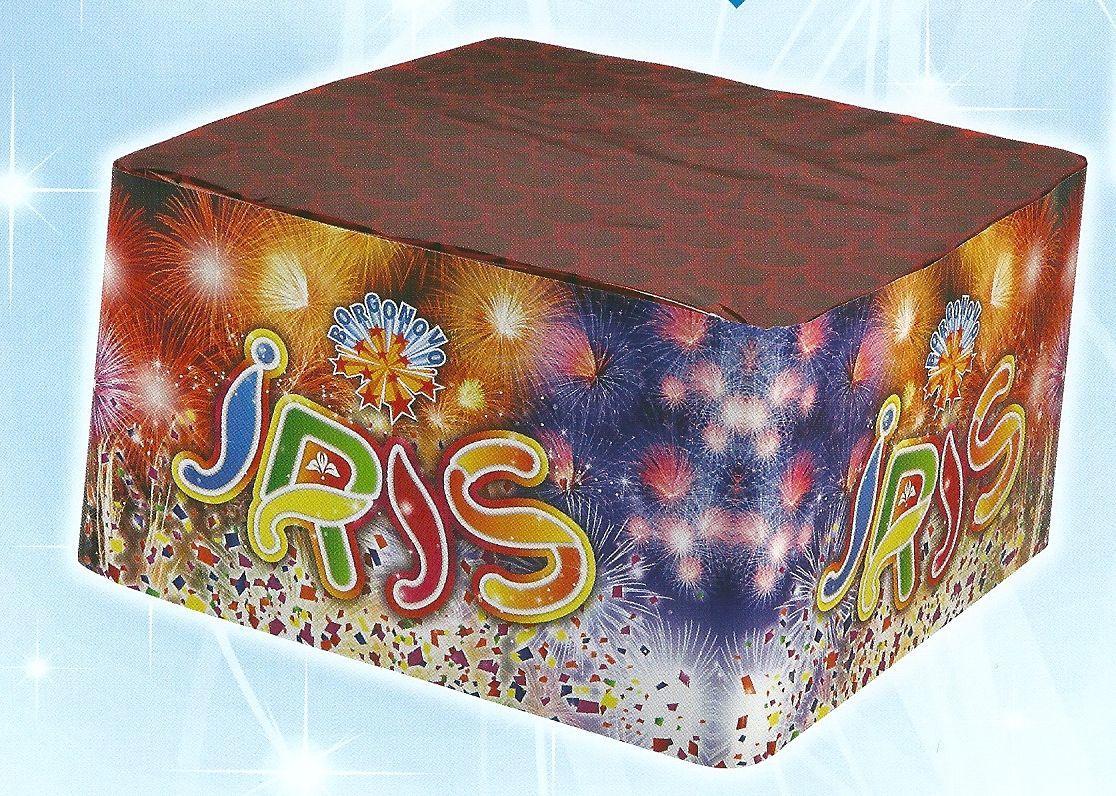 scatola di fuochi artificiali IRIS
