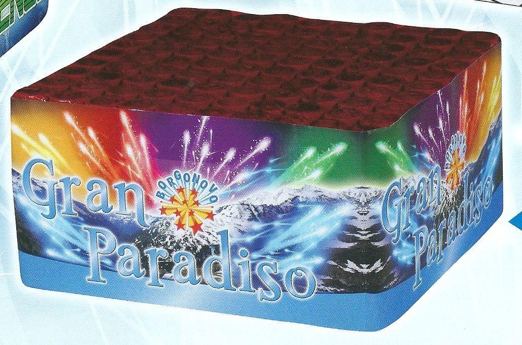 scatola di fuochi artificiali GRAN PARADISO