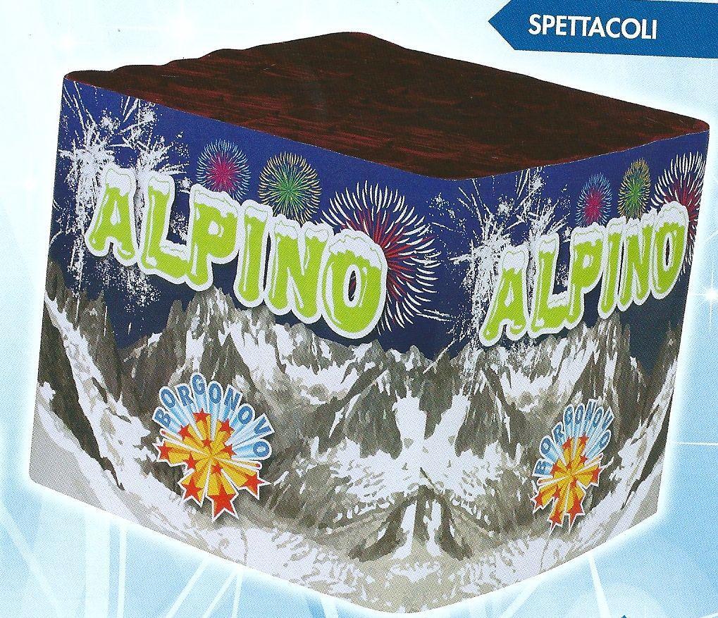 scatola di fuochi artificiali ALPINO