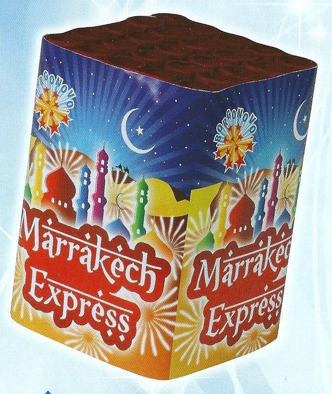 scatola di fuochi artificiali MARRAKECH EXPRESS