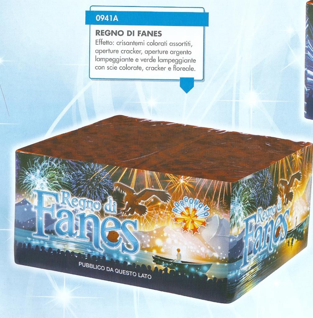 scatola di fuochi artificiali REGNO DI FANES