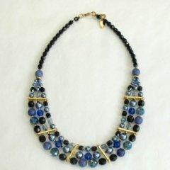 Girocollo con perle e cristalli, Firenze