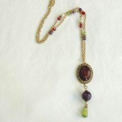 Collana con pietre e perle, Firenze