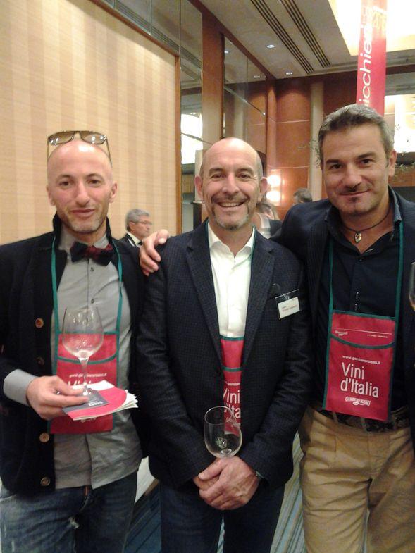 Premi e riconoscimenti dell'azienda Agricola Ottaviano Lambruschi a Castelnuovo Magra