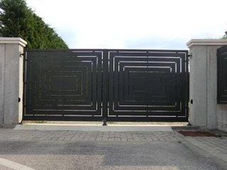 Cancello In Ferro Moderno.Cancelli In Ferro Pontelongo Padova Officina Marchiori