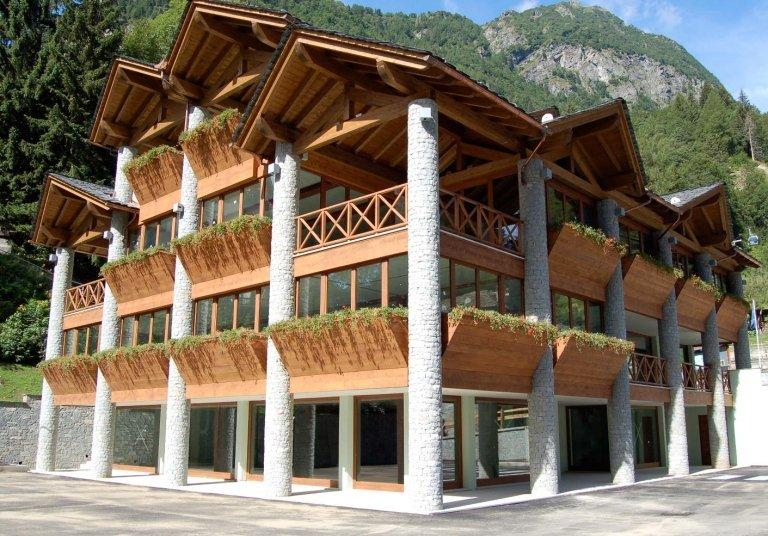 centro polifunzionale olen ,Alagna Valsesia -VC