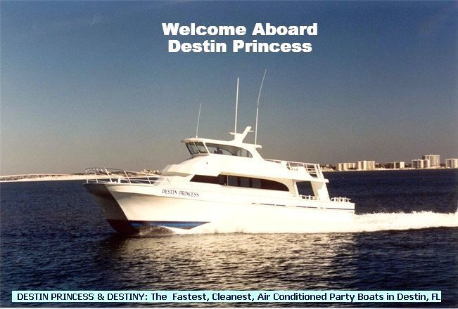 Home for Party boat fishing destin fl