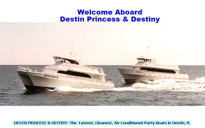 Destin Party Boat Fishing -- Destin, Florida