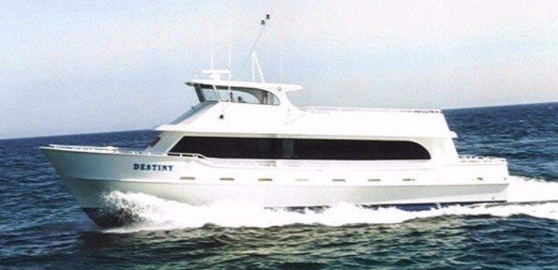 Destiny Party Boat Fishing, Destin, Florida, 72-foot Sport Fisherman, Safe, Air Conditioned, Fast, Clean
