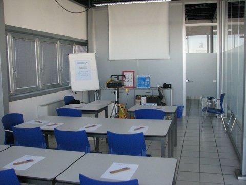 aula corsi per carrellisti