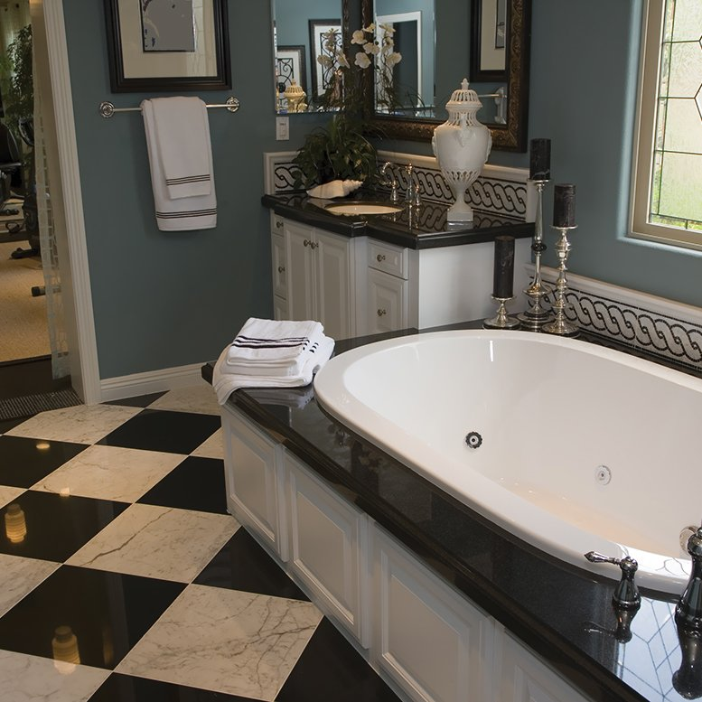 Home | Stone Mosaics & Tiles Westhampton NY | Bathroom Design Long ...