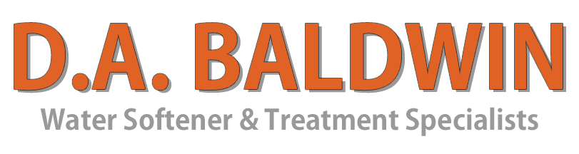 D. A. Baldwin Water Softener & Treatment Specialists Company Logo