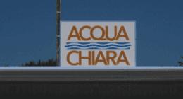 Acqua Chiata insegna