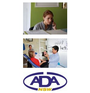 woy woy dental and implant centre nurse ada logo