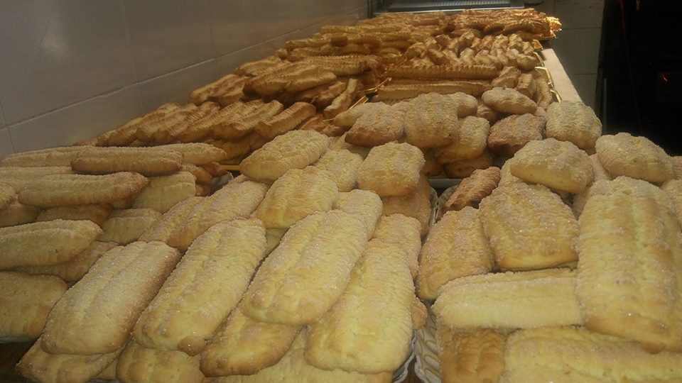 dei biscotti e dolci