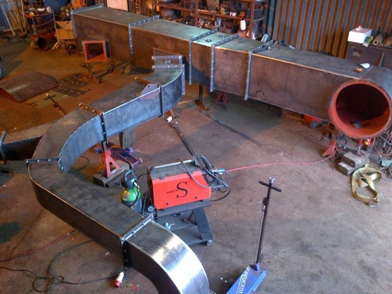 fabricated ducting equipment