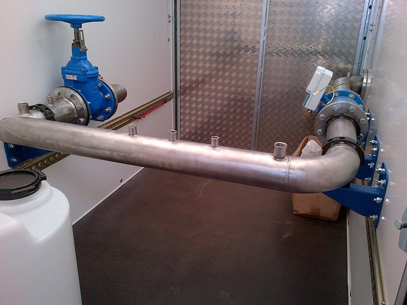pipe after welding