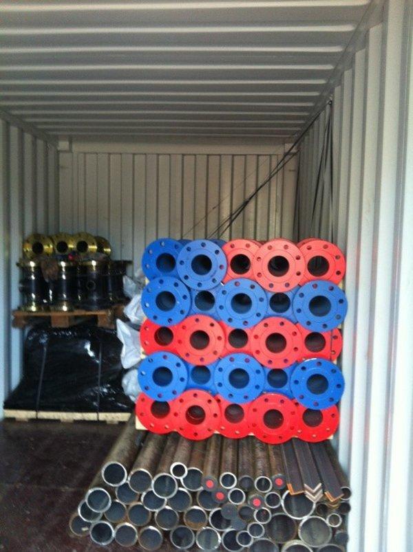 multi-coloured pipes