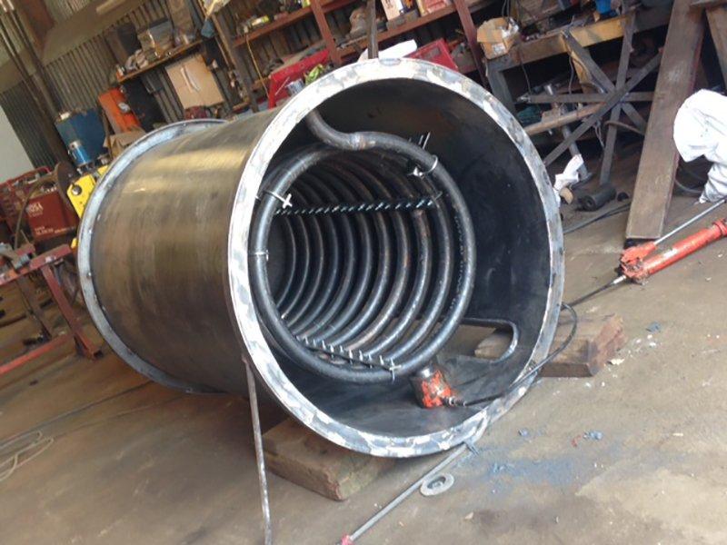 steel object
